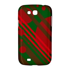 Red and green abstract design Samsung Galaxy Grand GT-I9128 Hardshell Case