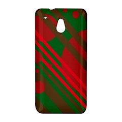 Red and green abstract design HTC One Mini (601e) M4 Hardshell Case