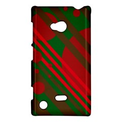 Red and green abstract design Nokia Lumia 720