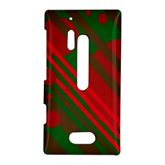 Red and green abstract design Nokia Lumia 928