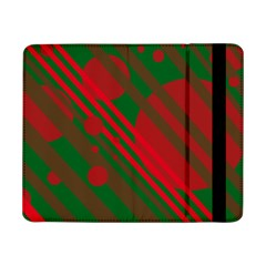 Red and green abstract design Samsung Galaxy Tab Pro 8.4  Flip Case