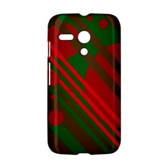Red and green abstract design Motorola Moto G