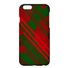 Red and green abstract design Apple iPhone 6 Plus/6S Plus Hardshell Case