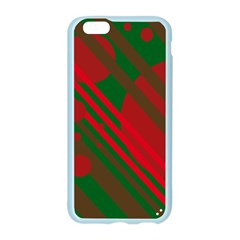 Red and green abstract design Apple Seamless iPhone 6/6S Case (Color)