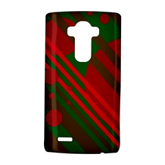 Red and green abstract design LG G4 Hardshell Case