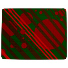 Red and green abstract design Jigsaw Puzzle Photo Stand (Rectangular)