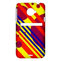 Hot circles and lines HTC Evo 4G LTE Hardshell Case