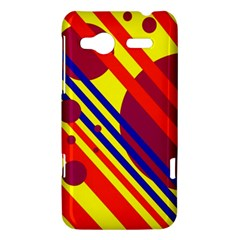 Hot circles and lines HTC Radar Hardshell Case
