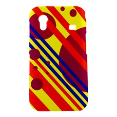 Hot circles and lines Samsung Galaxy Ace S5830 Hardshell Case
