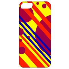 Hot circles and lines Apple iPhone 5 Classic Hardshell Case