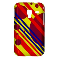 Hot circles and lines Samsung Galaxy Ace Plus S7500 Hardshell Case