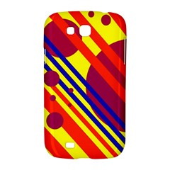 Hot circles and lines Samsung Galaxy Grand GT-I9128 Hardshell Case