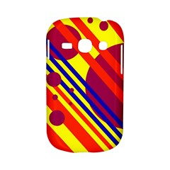 Hot circles and lines Samsung Galaxy S6810 Hardshell Case