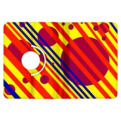 Hot circles and lines Kindle Fire HDX Flip 360 Case