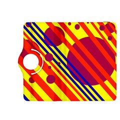 Hot circles and lines Kindle Fire HDX 8.9  Flip 360 Case