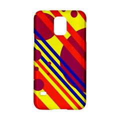Hot circles and lines Samsung Galaxy S5 Hardshell Case