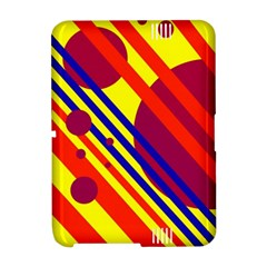 Hot circles and lines Amazon Kindle Fire (2012) Hardshell Case