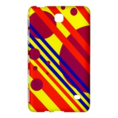 Hot circles and lines Samsung Galaxy Tab 4 (7 ) Hardshell Case