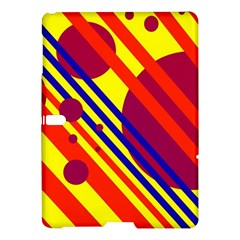 Hot circles and lines Samsung Galaxy Tab S (10.5 ) Hardshell Case