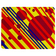 Hot circles and lines Jigsaw Puzzle Photo Stand (Rectangular)