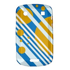 Blue, yellow and white lines and circles Bold Touch 9900 9930