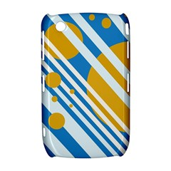 Blue, yellow and white lines and circles Curve 8520 9300