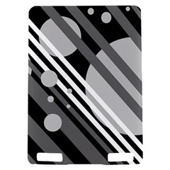Gray lines and circles Kindle Touch 3G