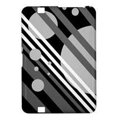 Gray lines and circles Kindle Fire HD 8.9