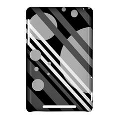 Gray lines and circles Nexus 7 (2012)
