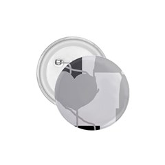 Gray hart 1.75  Buttons
