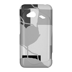 Gray hart HTC Droid Incredible 4G LTE Hardshell Case