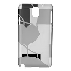 Gray hart Samsung Galaxy Note 3 N9005 Hardshell Case