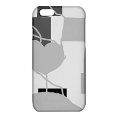 Gray hart iPhone 6/6S TPU Case