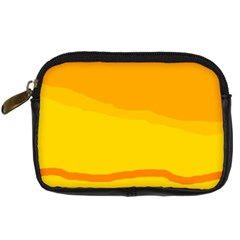 Yellow decorative design Digital Camera Cases
