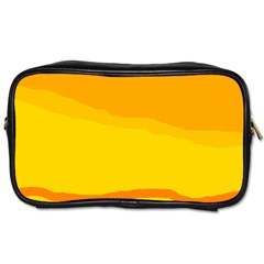 Yellow decorative design Toiletries Bags