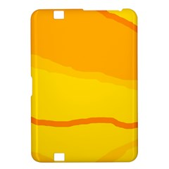 Yellow decorative design Kindle Fire HD 8.9