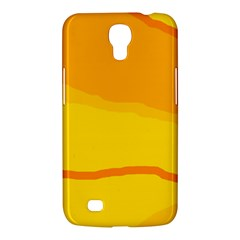 Yellow decorative design Samsung Galaxy Mega 6.3  I9200 Hardshell Case