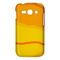 Yellow decorative design Samsung Galaxy Ace 3 S7272 Hardshell Case