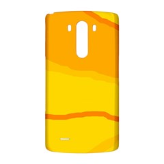 Yellow decorative design LG G3 Back Case