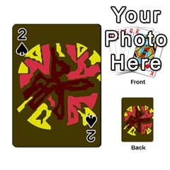 Abstract design Playing Cards 54 Designs