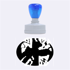 Abstract design Rubber Oval Stamps