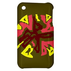 Abstract design Apple iPhone 3G/3GS Hardshell Case
