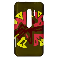 Abstract design HTC Evo 3D Hardshell Case