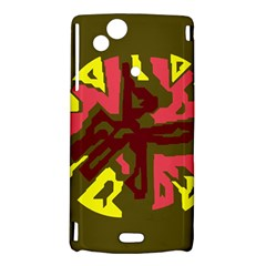 Abstract design Sony Xperia Arc
