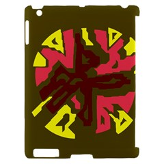 Abstract design Apple iPad 2 Hardshell Case (Compatible with Smart Cover)