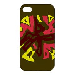 Abstract design Apple iPhone 4/4S Premium Hardshell Case