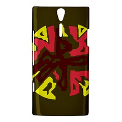 Abstract design Sony Xperia S