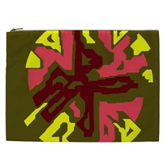 Abstract design Cosmetic Bag (XXL)