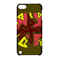 Abstract design Apple iPod Touch 5 Hardshell Case with Stand