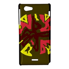 Abstract design Sony Xperia J